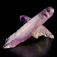 """3.5"""" VERACRUZ AMETHYST Criss-Cross Cluster of DoubleTerminated Crystals for sale"""