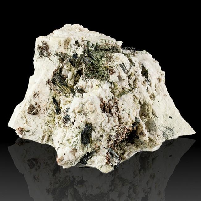 """3.8"""" Rare ELPIDITE Acicular Crystals +Rhodochrosite+Aegerine MSH Quebec for sale"""