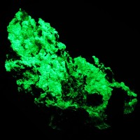 "4.6"" Bright Neon Green HYALITE OPAL Daylight Fluorescent & SW UV Mexico for sale"