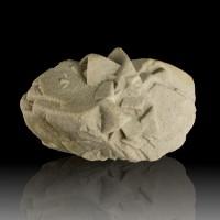 "2.9"" Historic SAND CALCITE Fine Crystals Fontainebleau France OldLabels for sale"