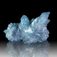 "2.7"" GlitzySparkly AQUA AURA SPIRIT QUARTZ Terminated Crystals S.Africa for sale"