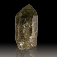 "2.7"" Pristine Green PHANTOM SMOKY QUARTZ Crystal Sharp & Shiny Brazil for sale"