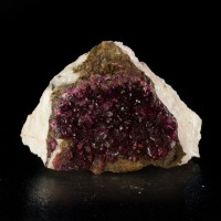 "1.9"" ROSELITE Sparkling Dark Magenta Purple Gemmy Crystals Morocco for sale"