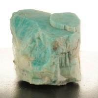 "3.3"" Vivid Turquoise AMAZONITE Large Sharp Baveno Twin Crystal Ethiopia for sale"