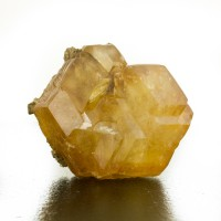 "3.1"" Fine Golden Amber CALCITE Gemmy Crystal Cluster Berry Q Indiana for sale"