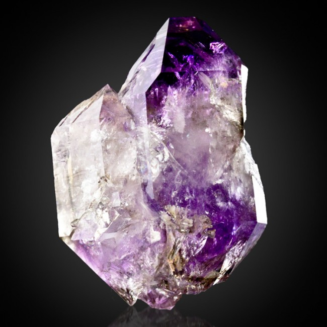 "1.8"" NewFind from CT PurpleViolet AMETHYST DblTermnated Scepter Crystal for sale"
