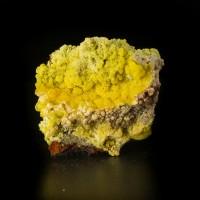 "2.5"" Rare YELLOW MIMETITE SilkyBotryoidal Crystals San Pedro Corralitos for sale"