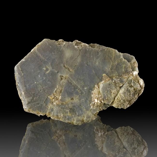 "3.3"" 895ct Rich Blue-Gray SAPPHIRE XLrg Terminated Crystal Bahia Brazil for sale"