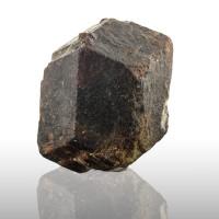 "1.9"" Sharp Dark Red ALMANDINE GARNET Crystal Gaisberg Glacier Austria for sale"