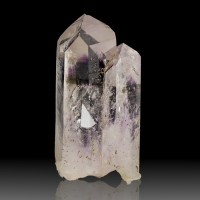 "2.3"" DeepRoyal Purple PHANTOM AMETHYST Crystal w/ENHYDRO Bubble Namibia for sale"