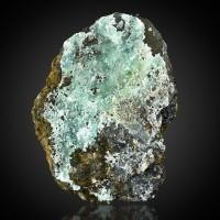 "3.4"" Grayish Blue SMITHSONITE Crystals on Matrix Broken Hill Australia for sale"