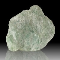 "5.3"" MINT GREEN TALC Foliated Crystals Softest Mineral Known Vermont for sale"