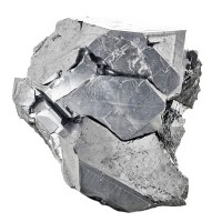 "1.7"" Bright Metallic Silver GALENA Cube-Octohedral Crystals Bulgaria for sale"