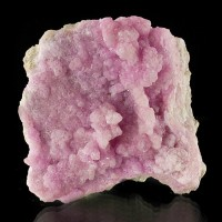 "2.9"" Glowing Peppermint Stick Pink COBALTOAN CALCITE Crystals Congo for sale"