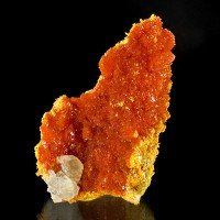 "2.8"" Red-Hot Red-Orange ORPIMENT Crystals that Sparkle & Twinkle Russia for sale"