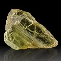 "1.7"" 80ct Gem See-Thru Straw Yellow DIASPORE Terminated Crystal Turkey for sale"