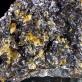 "7.7"" RUBY SPHALERITE w/Golden Gem CALCITE Stellar Beam Crystals Elmwood for sale"