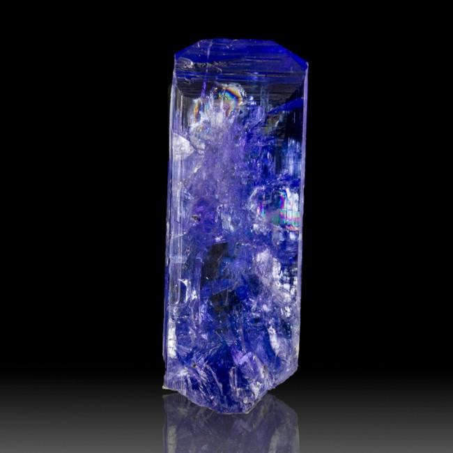 """1.2"""" 25.1ct Vivid Violet+Juicy Blue TANZANITE Gemmy Crystal Tanzania for sale"""