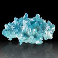 """3.7"""" Gemmy Neon Turquoise AQUA AURA QUARTZ Terminated Crystals Arkansas for sale"""