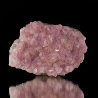 "3.1"" Bubble Gum Pink COBALTOAN CALCITE Gemmy Crystals to 10mm Morocco for sale"