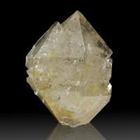 "3.1"" Gemmy HERKIMER DIAMOND Golden Healer Crystal w/Rainbows New York for sale"