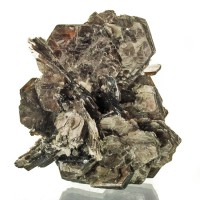 """3.2"""" Flashy Gleaming Silver MUSCOVITE Crystal Books Pocket Mica Brazil for sale"""