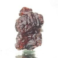 "1.2"" 86ct Blood Red Gem SPESSARTINE GARNET Crystal w/Stair Steps Brazil for sale"