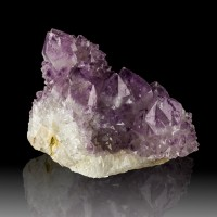"3.3"" Gleaming Colorful SPIRIT AMETHYST DarkPurple Crystals South Africa for sale"