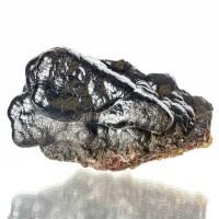 "5.7"" EyeCatching MirrorBright SilverBlack HEMATITE ""KIDNEY ORE"" Morocco for sale"
