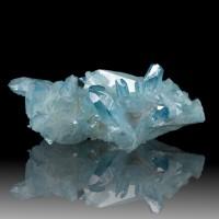 """3.7"""" Wild&Crazy Iridescent Turquoise AQUA AURA QUARTZ Crystals Arkansas for sale"""