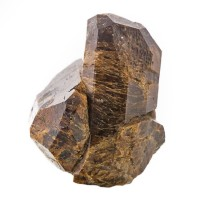 """2"""" Sharp & Shiny Root Beer Brown UVITE Terminated Crystals Bush Farm NY for sale"""
