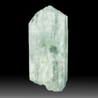 "1.8"" 156ct Light Mint Green GEM HIDDENITE Spodumene Crystal Afghanistan for sale"