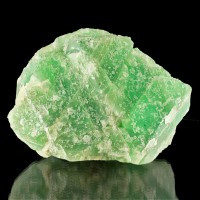 "5.9"" Jelly Bean Green FLUORITE Gemmy Octahedral Crystal Wise Mine NH for sale"