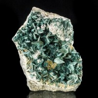 "2.1"" Rare Lustrous Dark Green GORMANITE Radiating Crystal Sprays Yukon for sale"