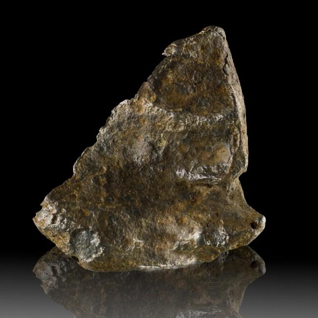 """3.9"""" 646g Nickel-Iron METEORITE w/Regmaglypts Campo del Cielo Argentina for sale"""