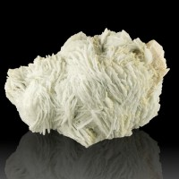 "8"" Gemmy PaleBlue&White CLEAVELANDITE Excellent Bladed Crystals Brazil for sale"