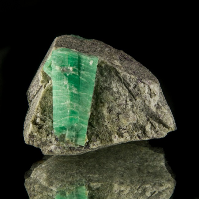 "2.1"" Grass Green EMERALD Sharp Crystals to 1.3"" on Smoky Quartz China for sale"