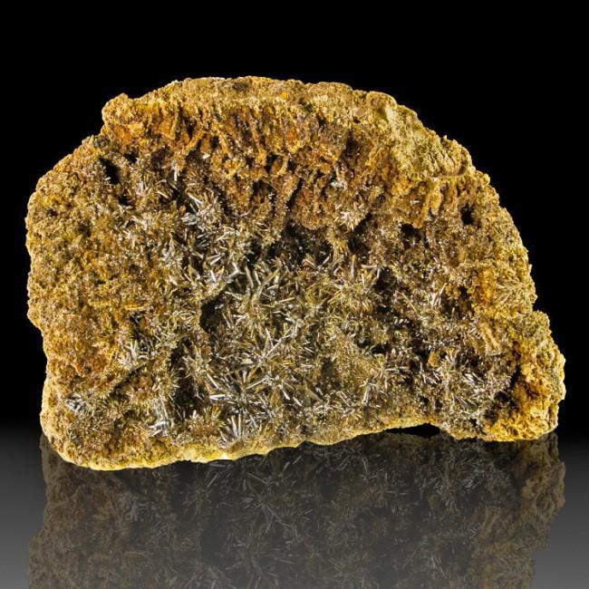 "7.2"" Brown Needle-Like ENDLICHITE Crystals Mexico ex-A.E.Seamen Museum for sale"