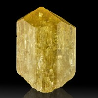 """1.7"""" Excellent Gemmy Yellow SCAPOLITE Crystal Sharp Termination India for sale"""