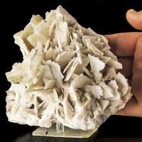 "6"" QUARTZ Pseudo ANHYDRITE Sharp Pristine Damage Free Crystals Brazil for sale"