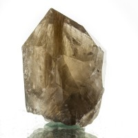 "2.5"" Breathtaking Golden Needle-Filled RUTILATED QUARTZ Crystal Brazil for sale"
