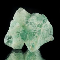 "1.5"" Octahedral GREEN FLUORITE Sharp Gemmy Crystals in Cluster Pakistan for sale"