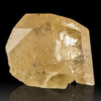 "1.9"" 325ct Gemmy Clear Sherry-Colored Terminated TOPAZ CRYSTAL Pakistan for sale"