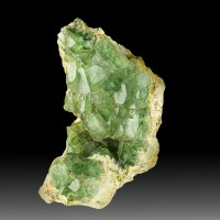 "1.5"" Bright Shiny Gemmy Green DEMANTOID GARNET Crystals Madagascar for sale"