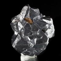 "1.8"" Superb Mirror Bright CUPRITE RazorSharp Octahedral Crystals Russia for sale"