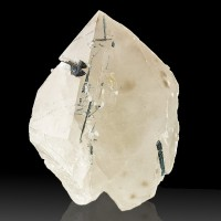 "4.9"" Gem Clear INDICOLITE TOURMALINE Crystals in BLUE QUARTZ Brazil for sale"