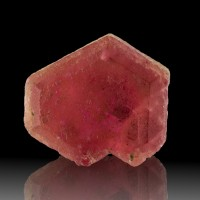 17.3mm 15.2ct Terminated Raspberry Red PEZZOTAITE Crystal Madagascar for sale