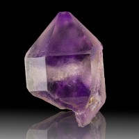 "1.4"" PHANTOM AMETHYST Crystal w/Hourglass Shaped Purple ""Sand"" Morocco for sale"