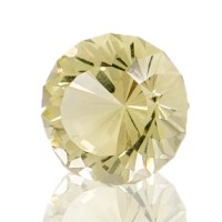 10.75ct 14.6mm Flawless LEMON CITRINE 100% Natural Cut Gemstone Brazil for sale