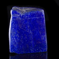 "4.8"" Royal Blue LAPIS LAZULI Rich Colorful Polished Section Afghanistan for sale"